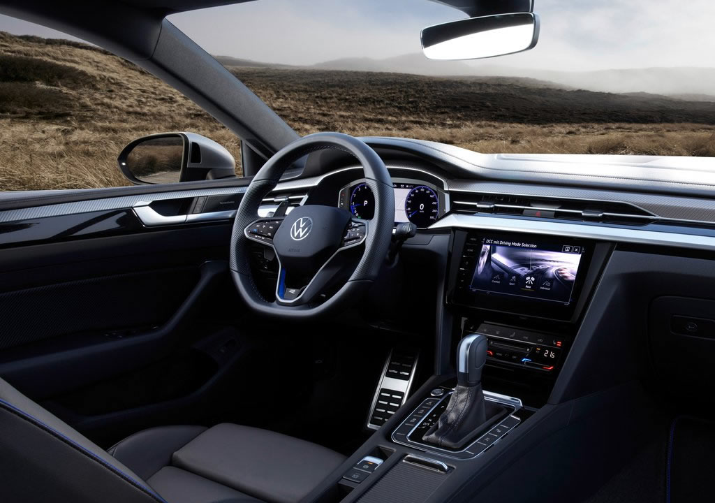2021 Yeni Volkswagen Arteon R İçi