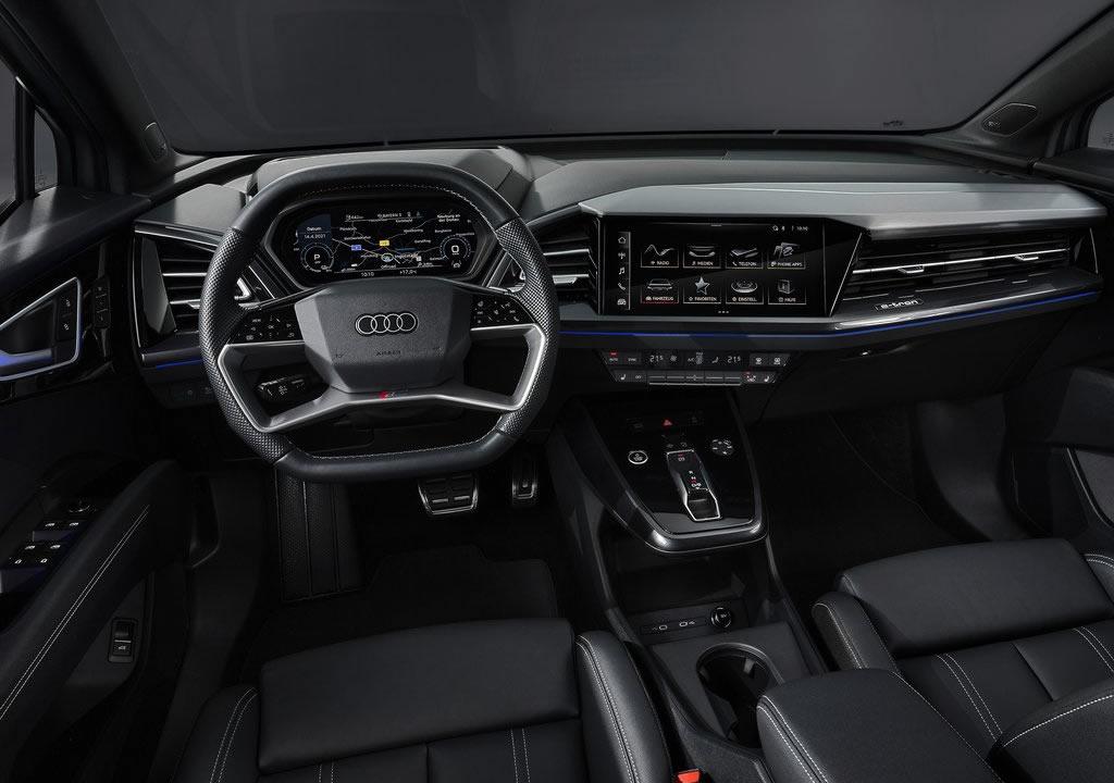 2022 Audi Q4 Sportback e-tron İçi