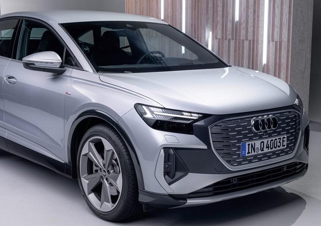 2022 Audi Q4 Sportback e-tron Menzili