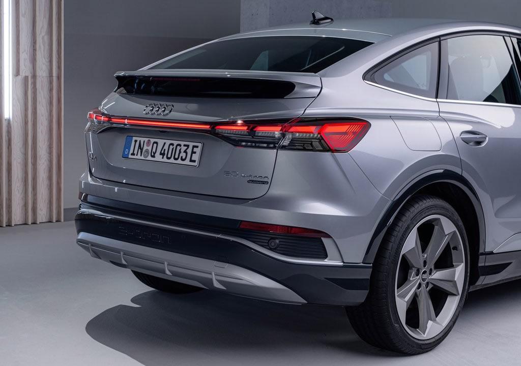 2022 Audi Q4 Sportback e-tron Fotoğrafları
