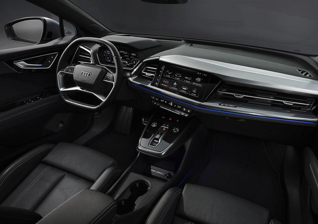 2022 Audi Q4 Sportback e-tron Kokpiti