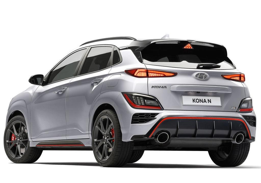 2022 Hyundai Kona N 0-100 km/s