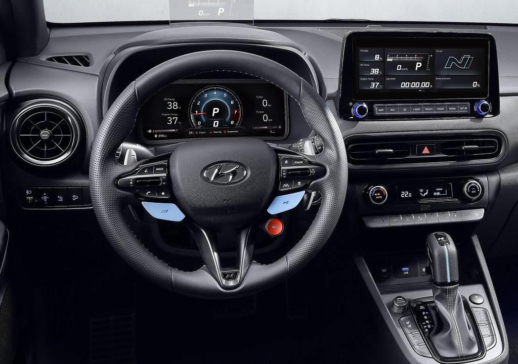 2022 Hyundai Kona N Kokpiti
