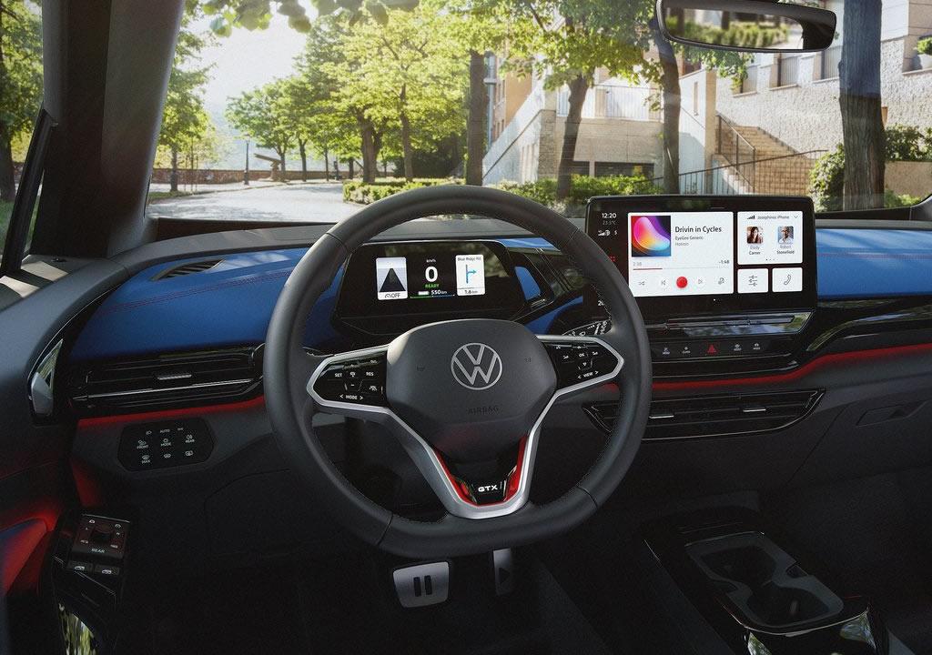 2022 Volkswagen ID.4 GTX Kokpiti
