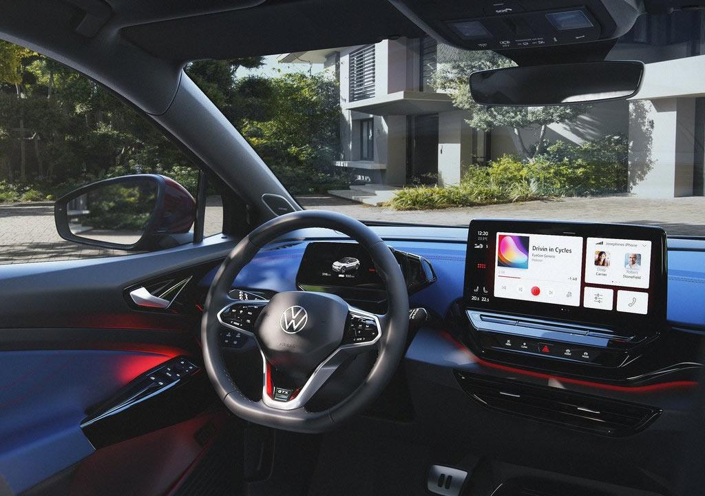2022 Volkswagen ID.4 GTX İçi