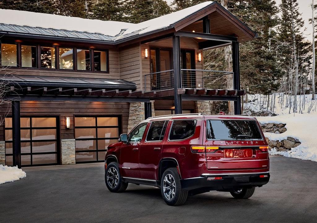 2022 Yeni Jeep Wagoneer Özellikleri