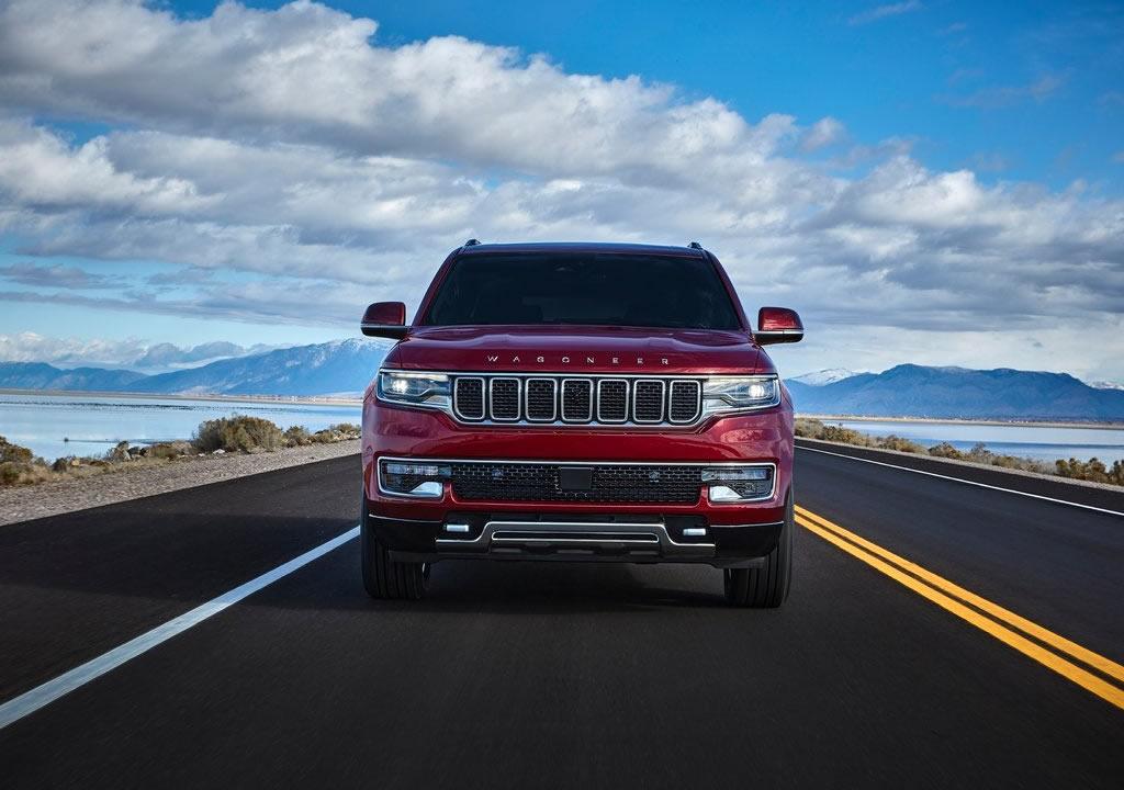 2022 Yeni Jeep Wagoneer Fotoğrafları