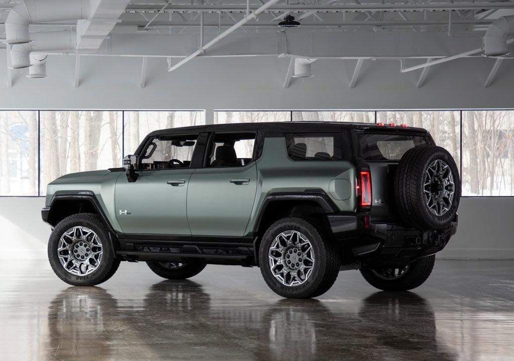2024 GMC Hummer EV SUV Teknik Özellikleri