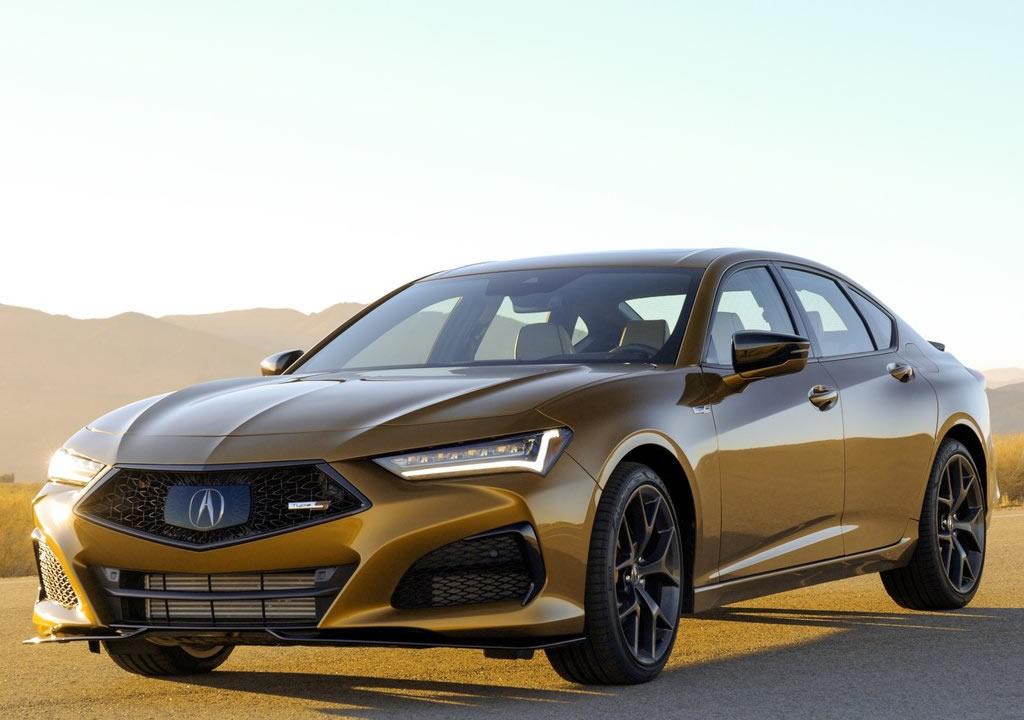 2021 Yeni Acura TLX Type S Özellikleri