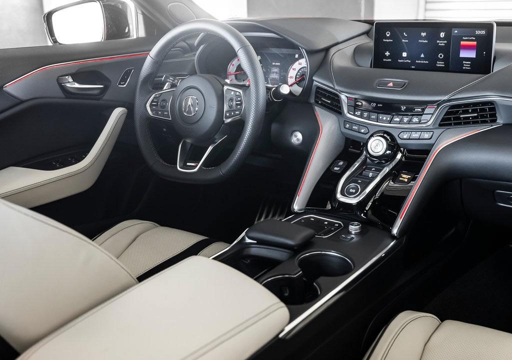 2021 Yeni Acura TLX Type S Motoru