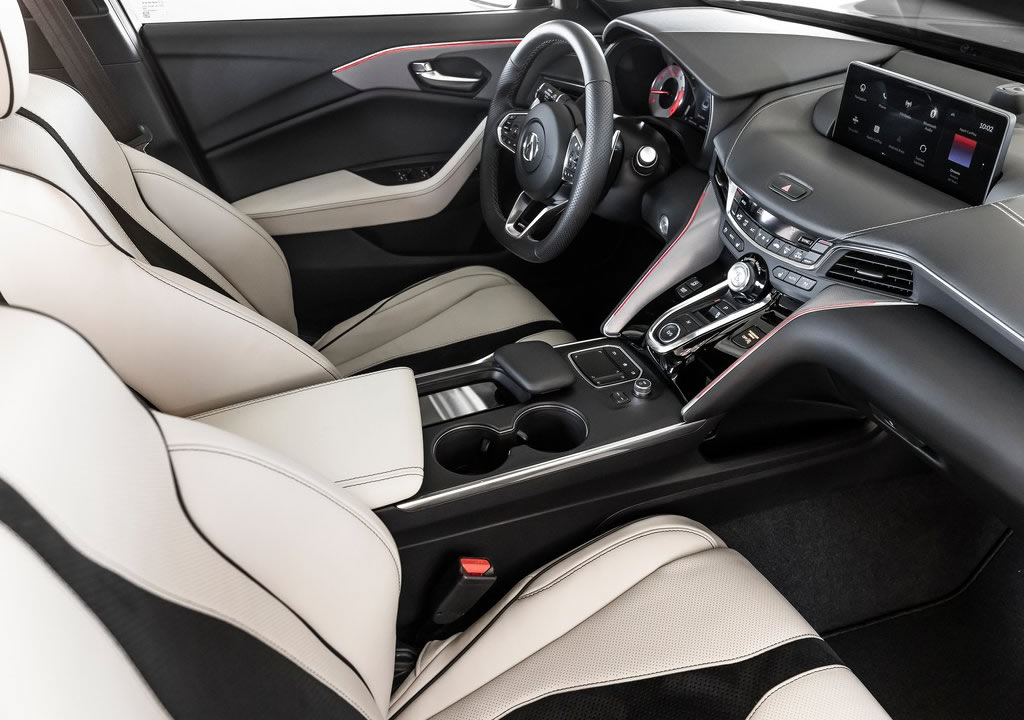 2021 Yeni Acura TLX Type S Kokpiti