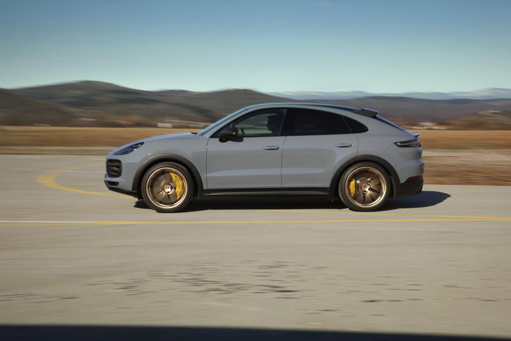 2022 Porsche Cayenne Turbo GT Kaç Beygir?