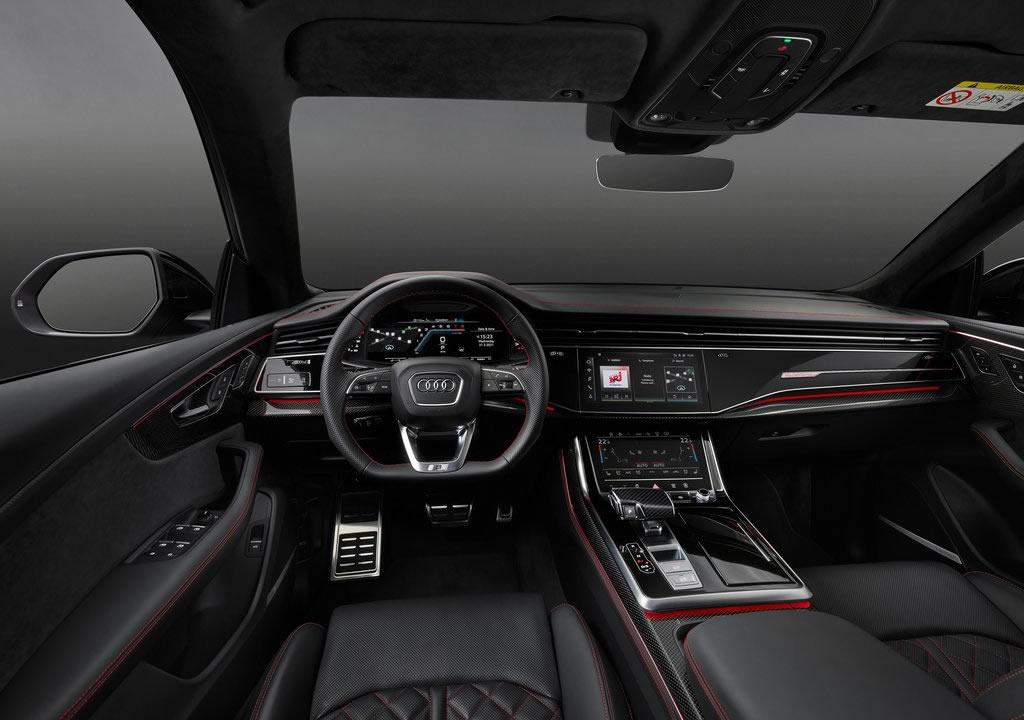2022 Yeni Audi Q7 competition plus Kokpiti