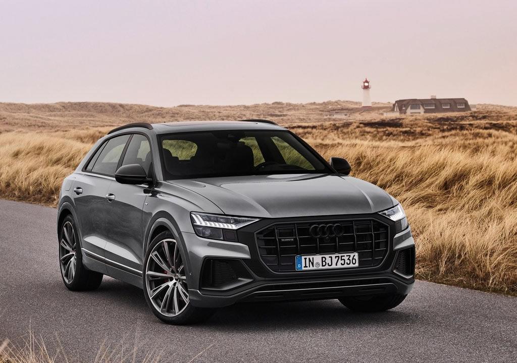 2022 Yeni Audi Q8 competition plus