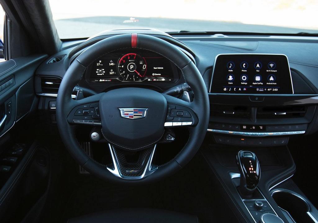 2022 Yeni Cadillac CT4-V Blackwing Kokpiti
