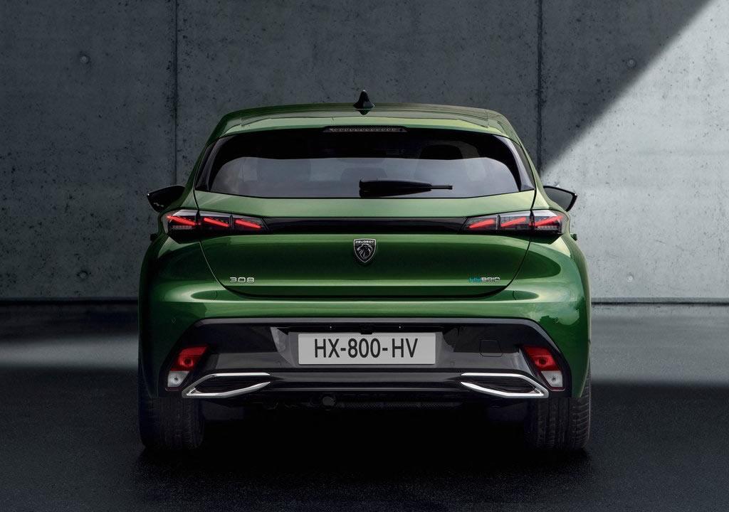 2022 Yeni Kasa Peugeot 308 Fotoğrafları