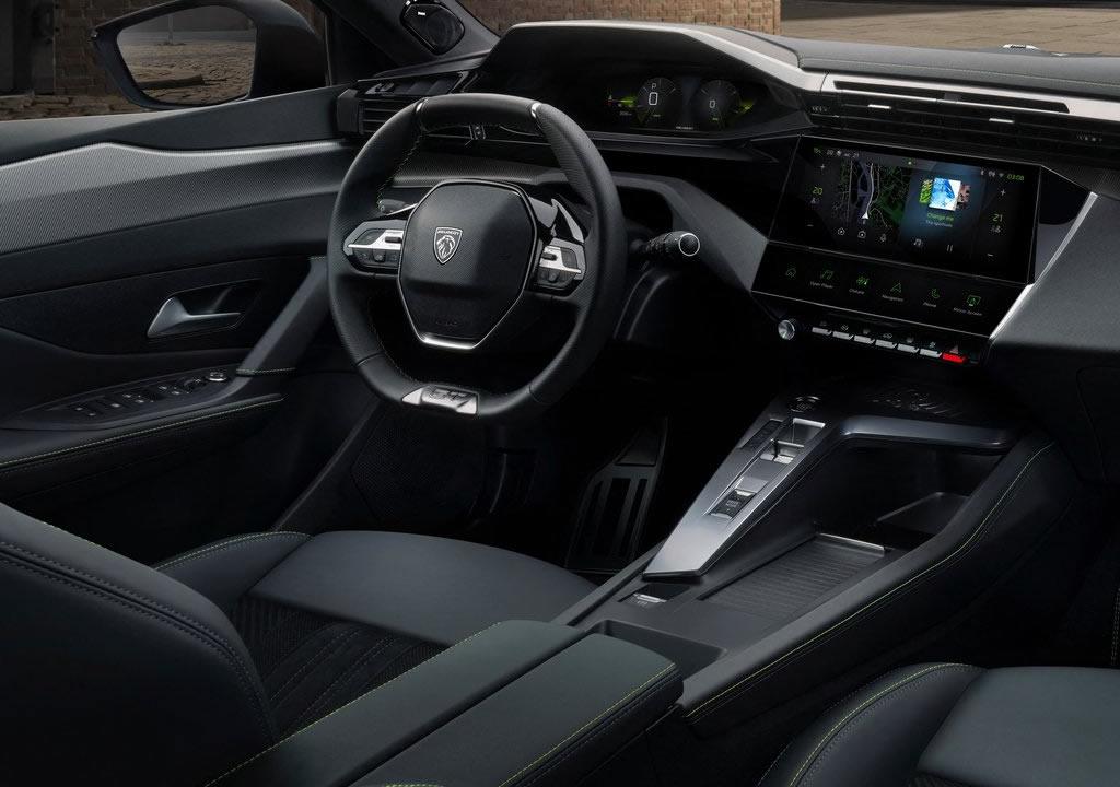 2022 Yeni Kasa Peugeot 308 Kokpiti