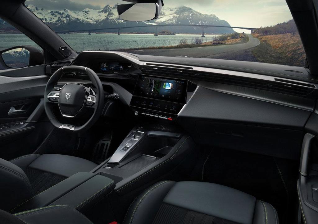 2022 Yeni Kasa Peugeot 308 İçi