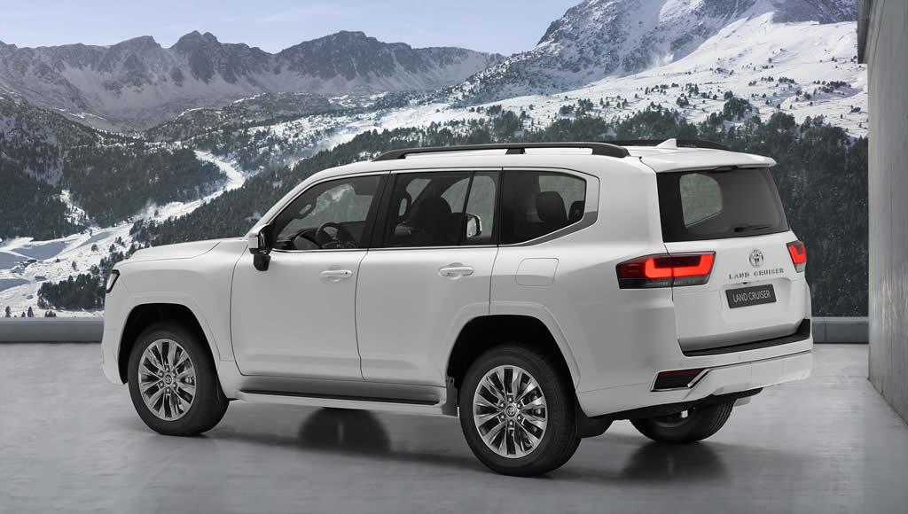 2022 Yeni Kasa Toyota Land Cruiser Donanımları