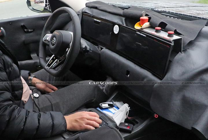 2023 Yeni Kasa BMW 7 Serisi Kokpiti