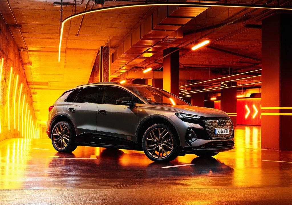 Elektrikli 2022 Yeni Audi Q4 e-tron