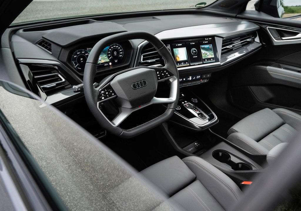 2022 Yeni Audi Q4 e-tron İçi
