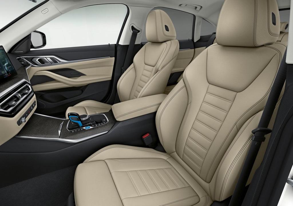 BMW i4 İçi