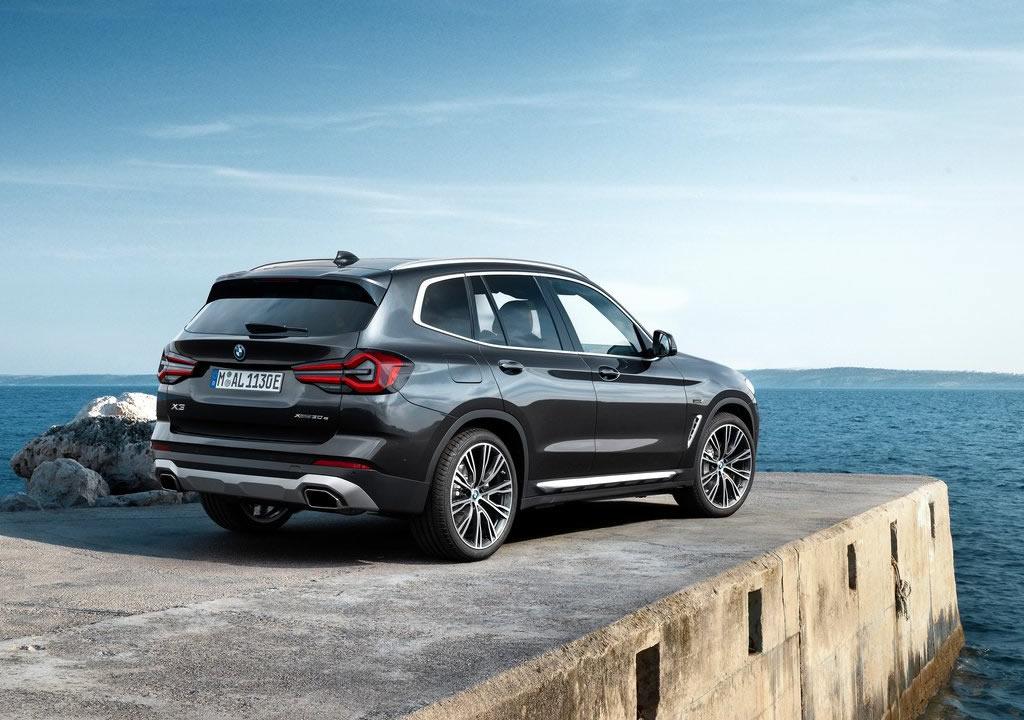 Makyajlı 2022 BMW X3 Teknik Özellikleri