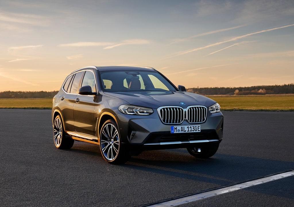 Makyajlı 2022 BMW X3 Özellikleri