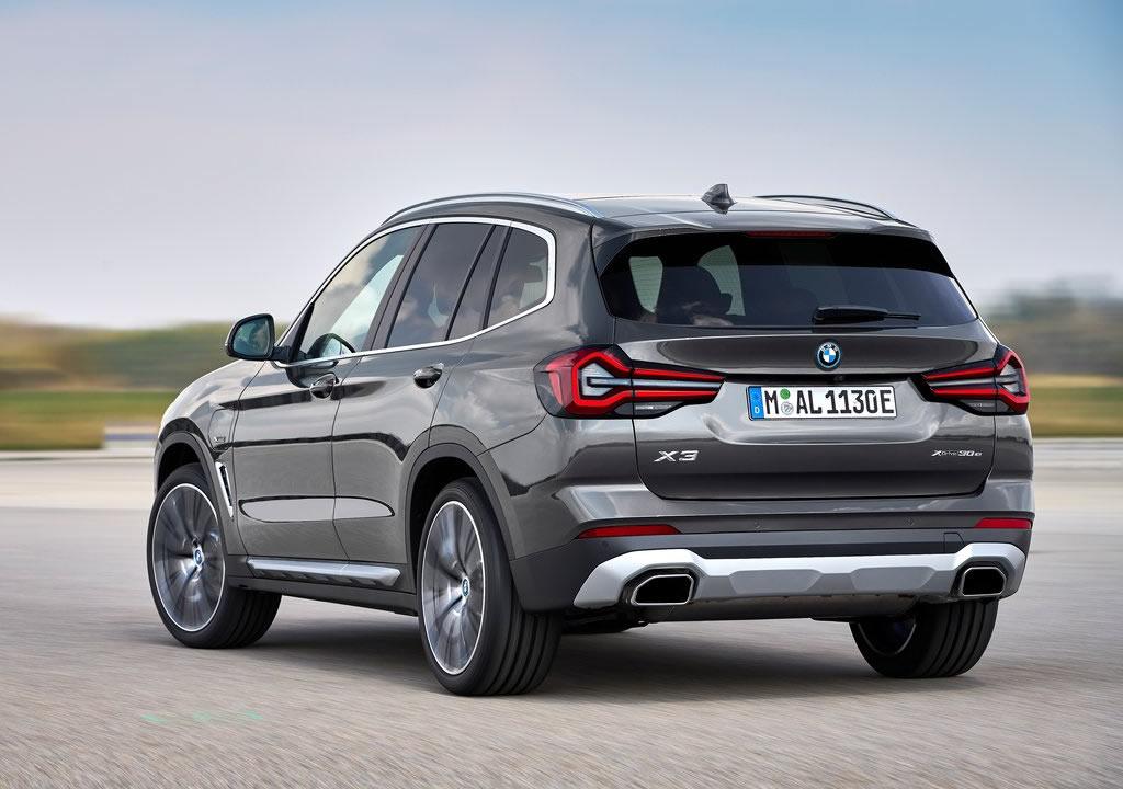 Makyajlı 2022 BMW X3 Donanımları