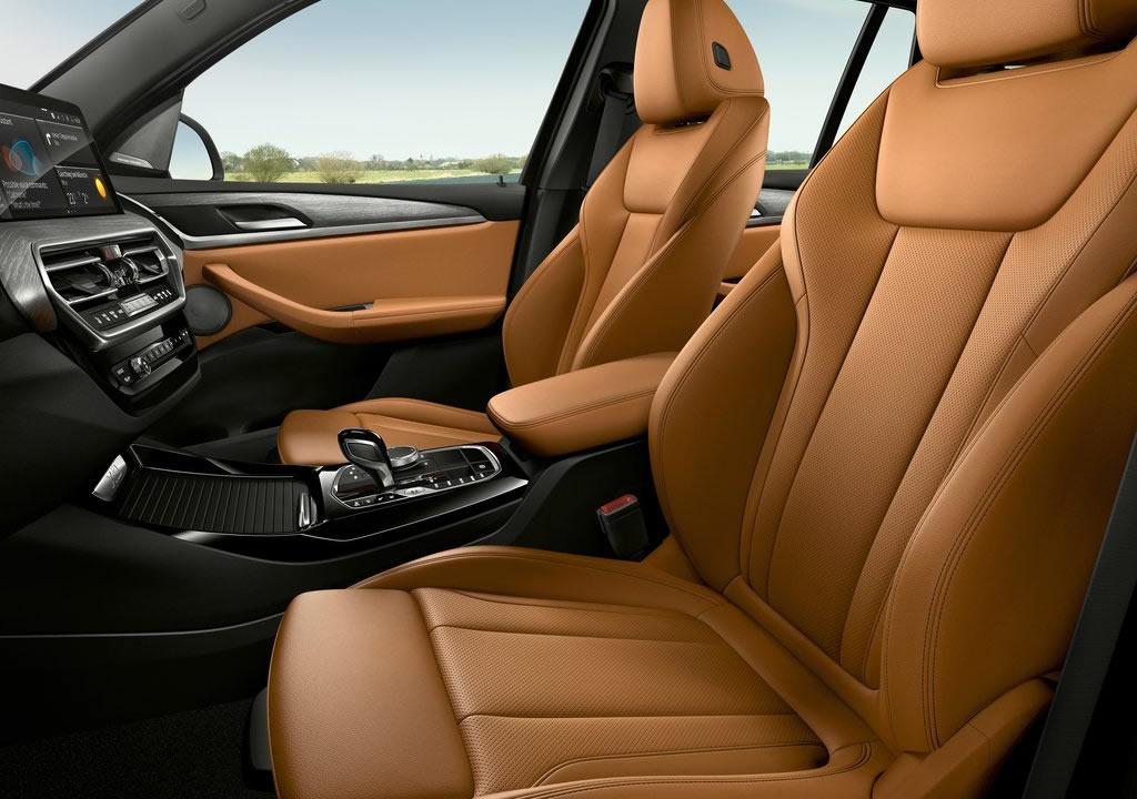 Makyajlı 2022 BMW X3 İçi