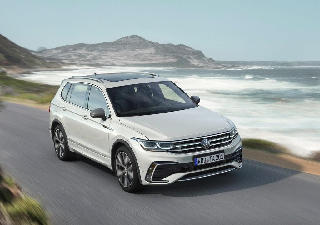 Makyajlı 2022 Volkswagen Tiguan Allspace Teknik Özellikleri