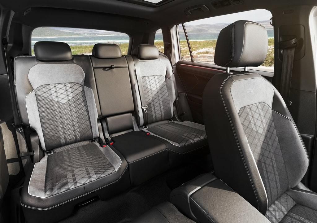 Makyajlı 2022 Volkswagen Tiguan Allspace Arkası