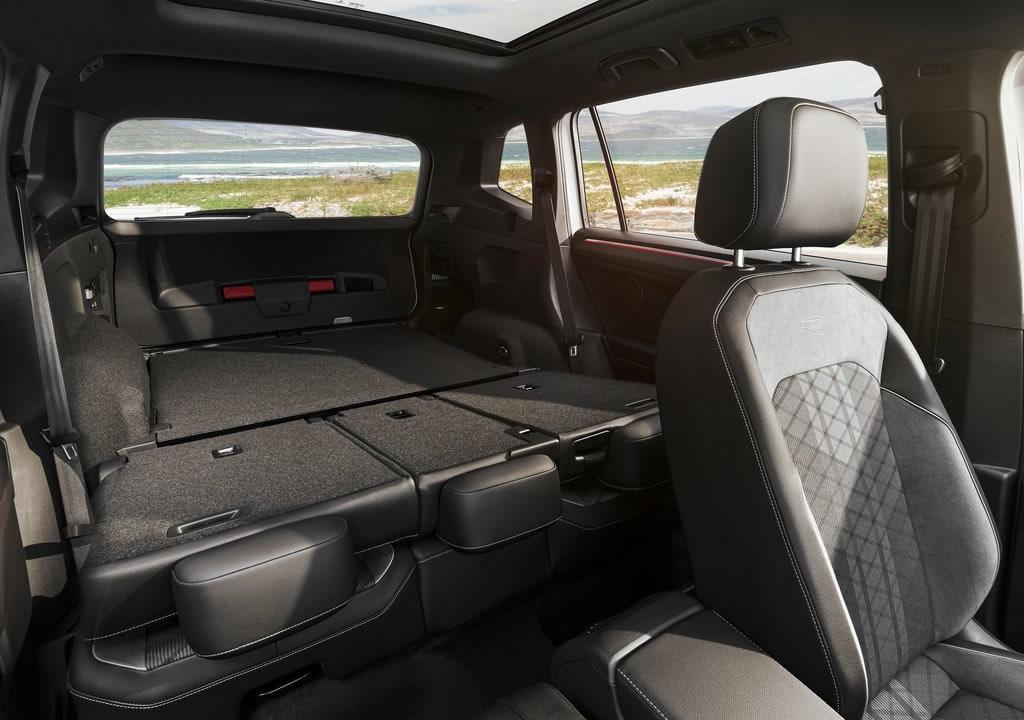 Makyajlı 2022 Volkswagen Tiguan Allspace Bagajı