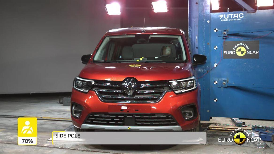 2021 Yeni Kasa Renault Kangoo Euro NCAP
