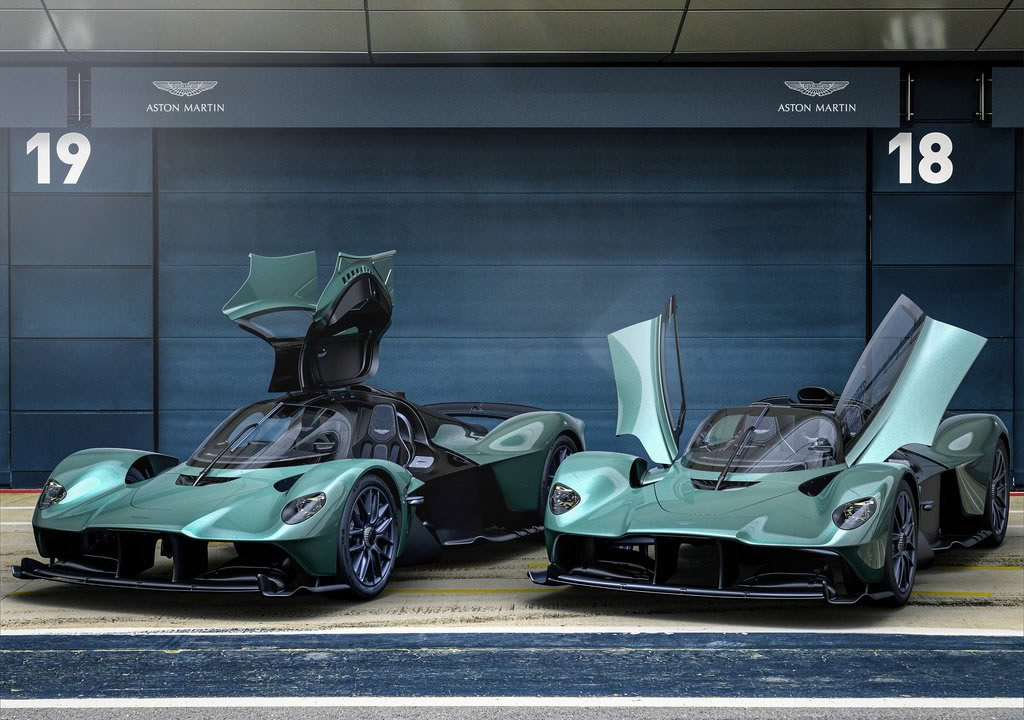 2022 Aston Martin Valkyrie Spider Özellikleri
