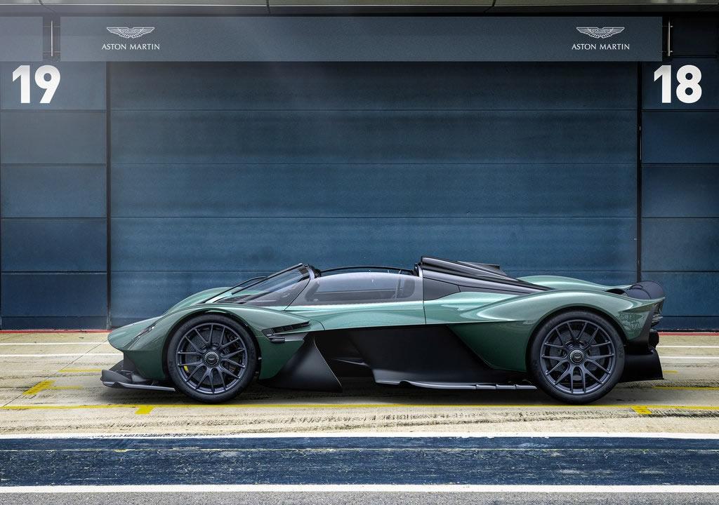 2022 Aston Martin Valkyrie Spider Teknik Özellikleri