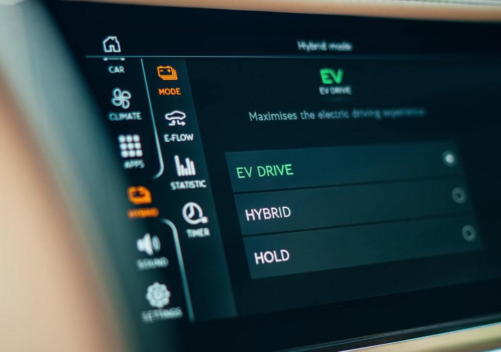 2022 Bentley Flying Spur Hybrid İçi