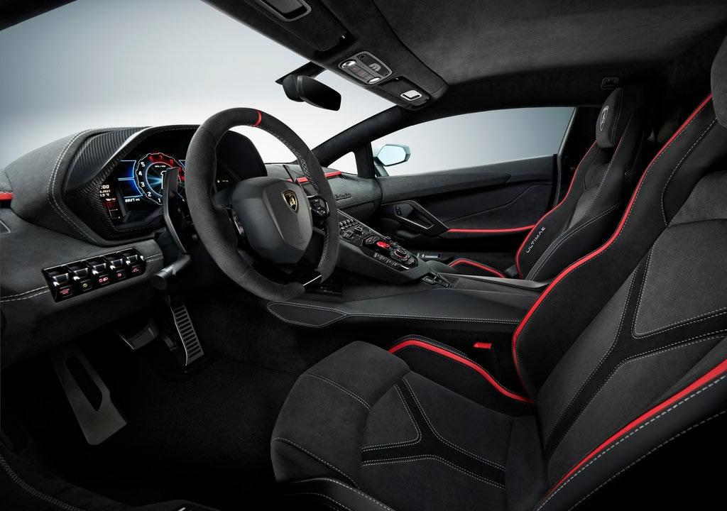 2022 Yeni Lamborghini Aventador LP780-4 Ultimae Kokpiti
