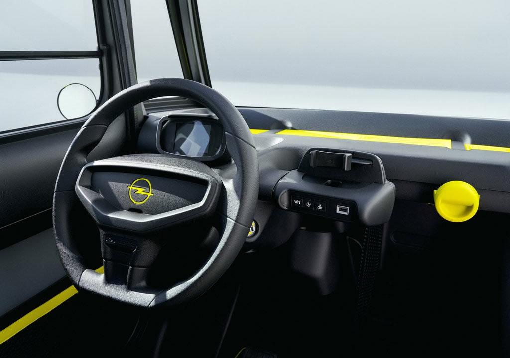 2022 Opel Rocks-e Kokpiti