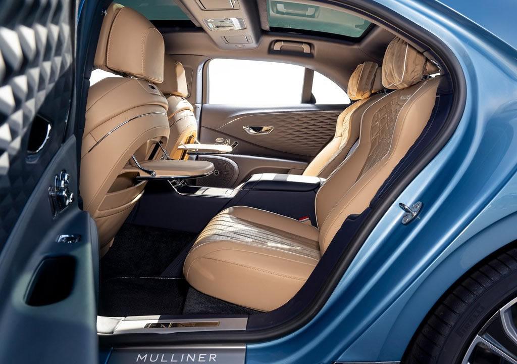 2022 Yeni Bentley Flying Spur Mulliner İçi