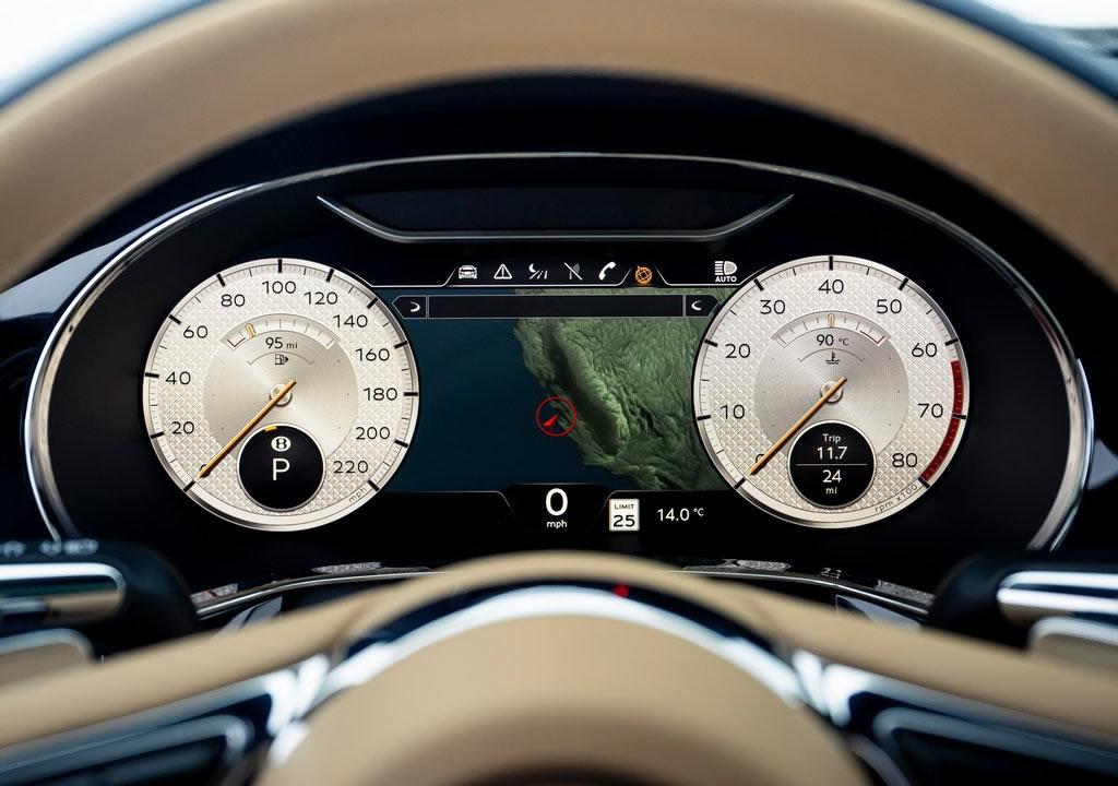2022 Yeni Bentley Flying Spur Mulliner Donanımları