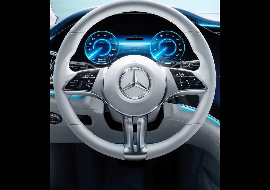 Elektrikli Mercedes-Benz EQE