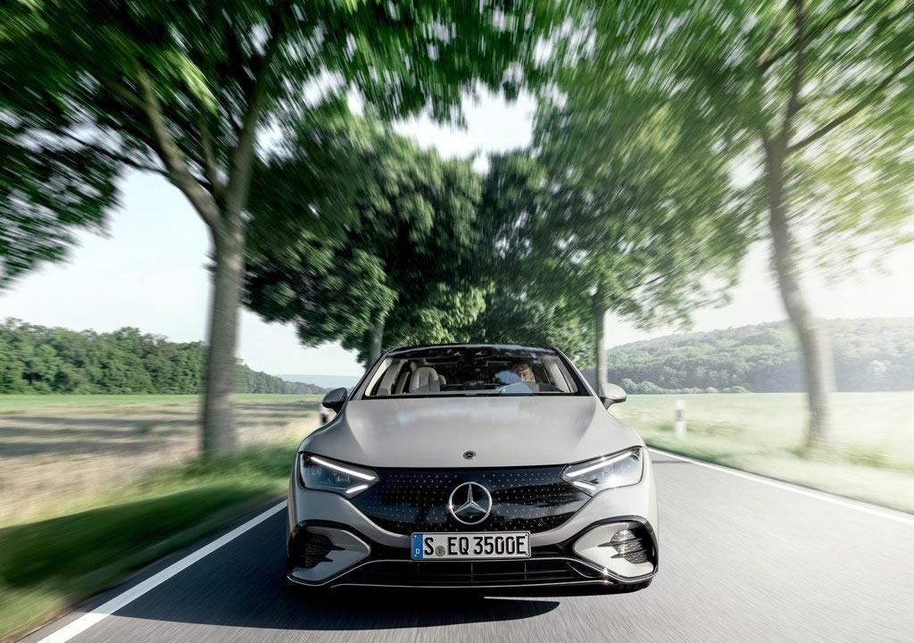 Yeni Mercedes-Benz EQE