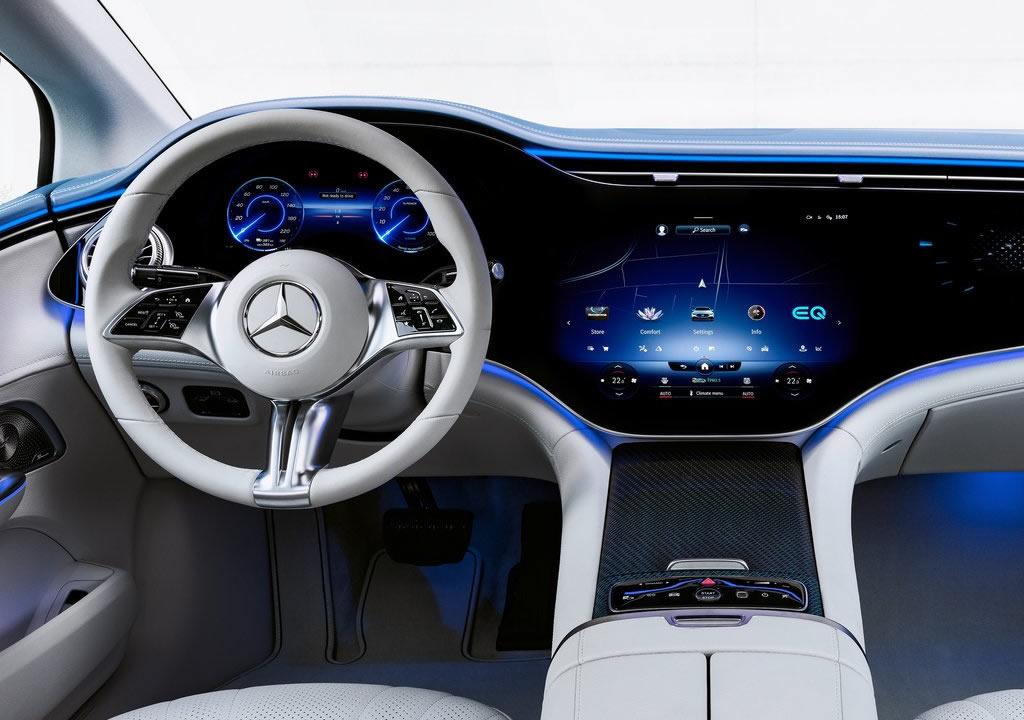 Yeni Mercedes-Benz EQE Kokpiti
