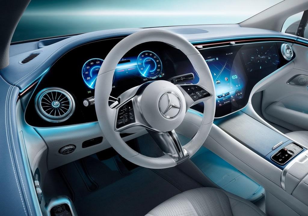 Yeni Mercedes-Benz EQE İçi