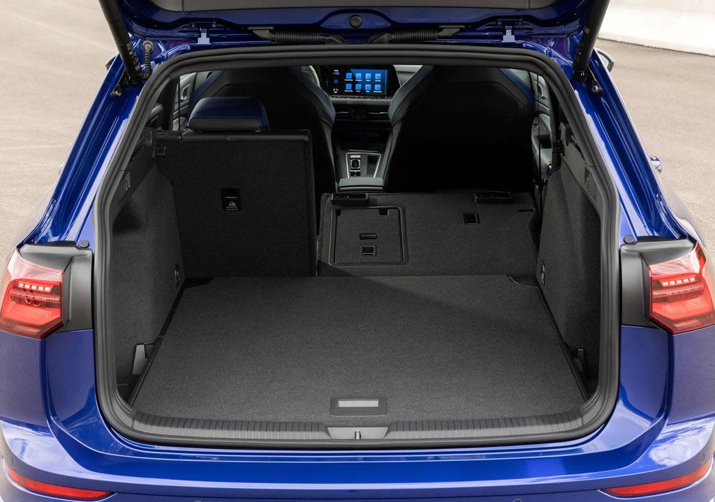 2022 Yeni Volkswagen Golf R Estate Bagajı
